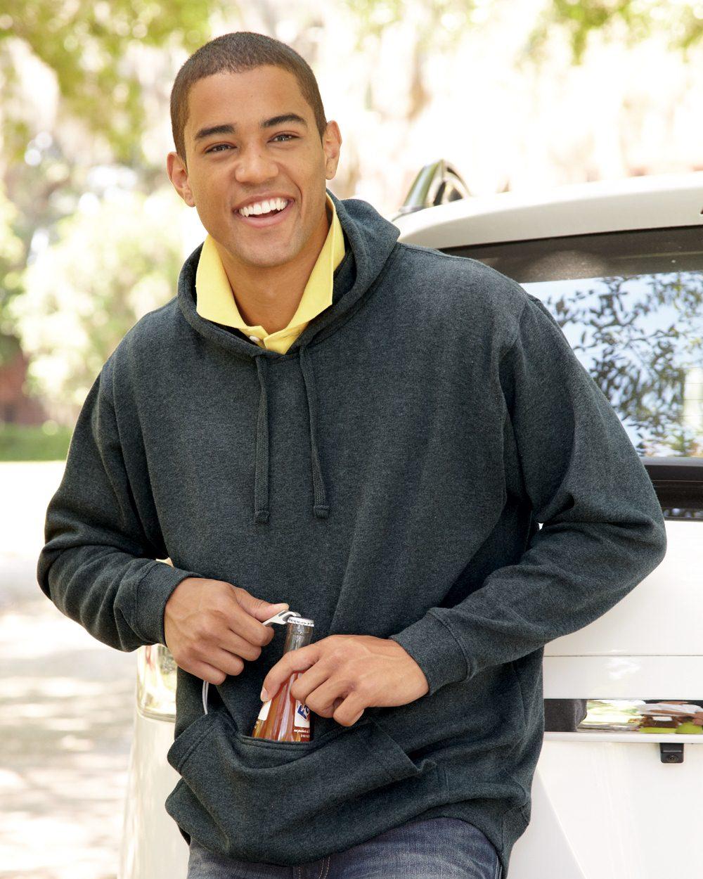 J. America Tailgate Hooded Sweatshirt - 8815