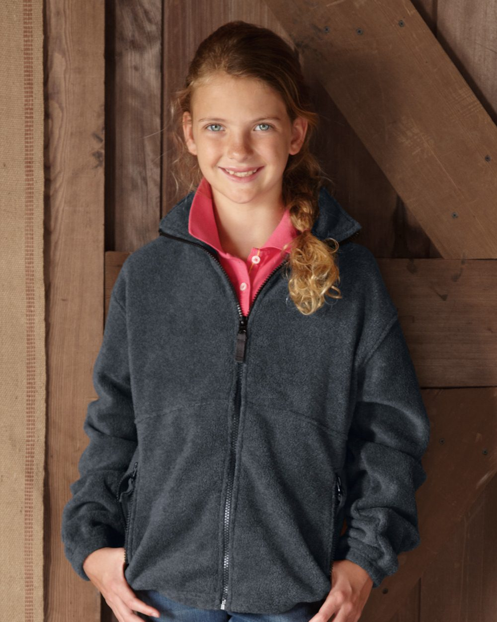 Sierra Pacific Youth Fleece Full-Zip Jacket - 4061