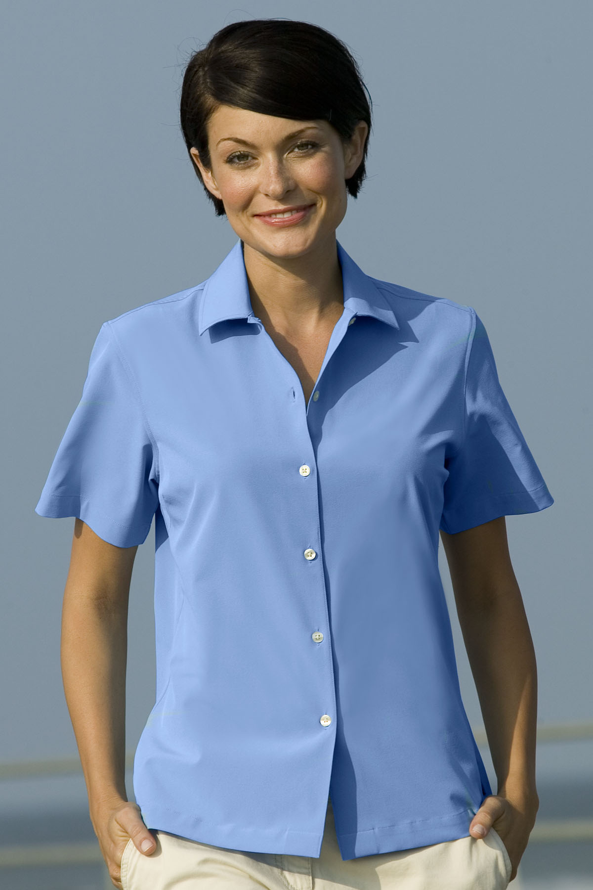 Vansport 1846 - Women's Woven Camp Shirt