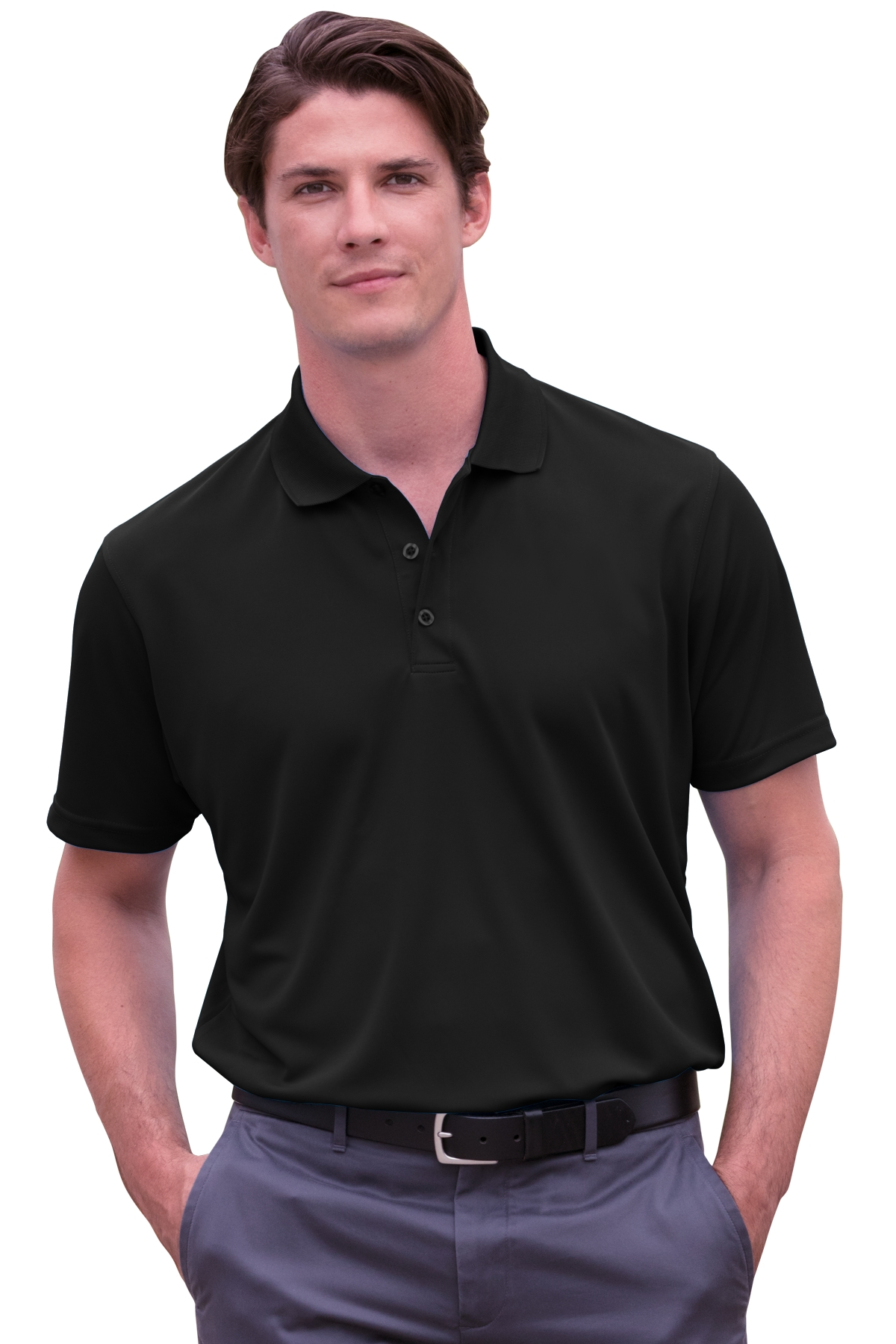 Vansport 2600 - Omega Solid Mesh Tech Polo