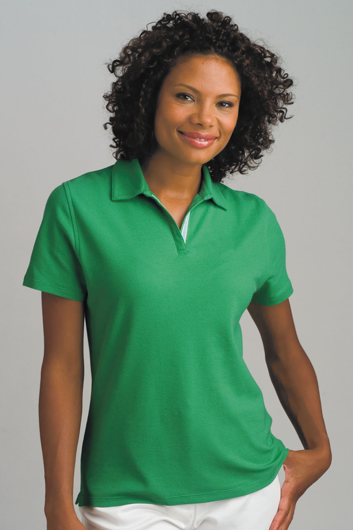 Vansport 2771 - Vansport Women's Double-Tuck Pique Polo