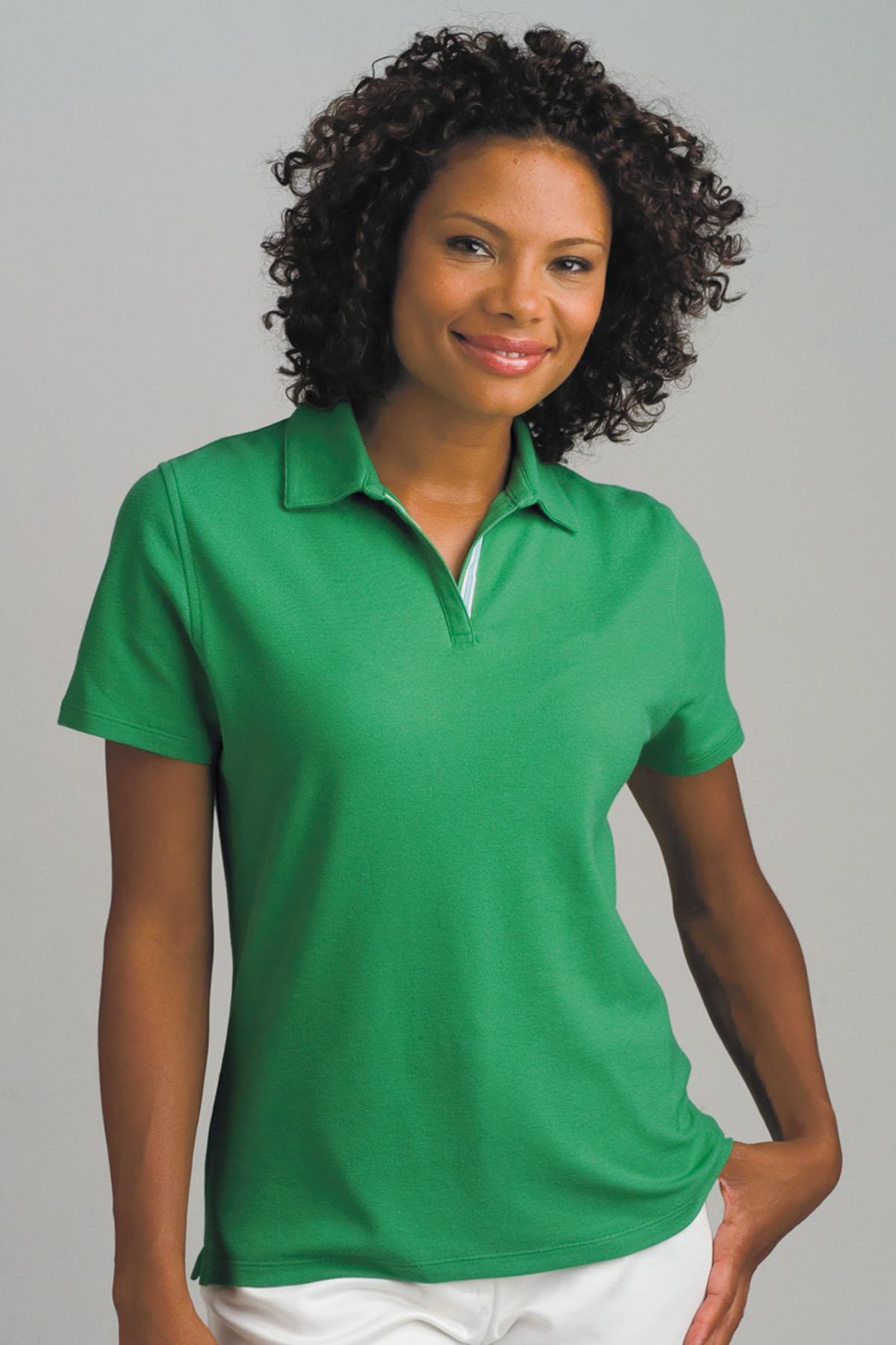 Vansport 2771 - Vansport Women s Double-Tuck Pique Polo  17.71 - Women s  Sport Shirts 5c9258bd91