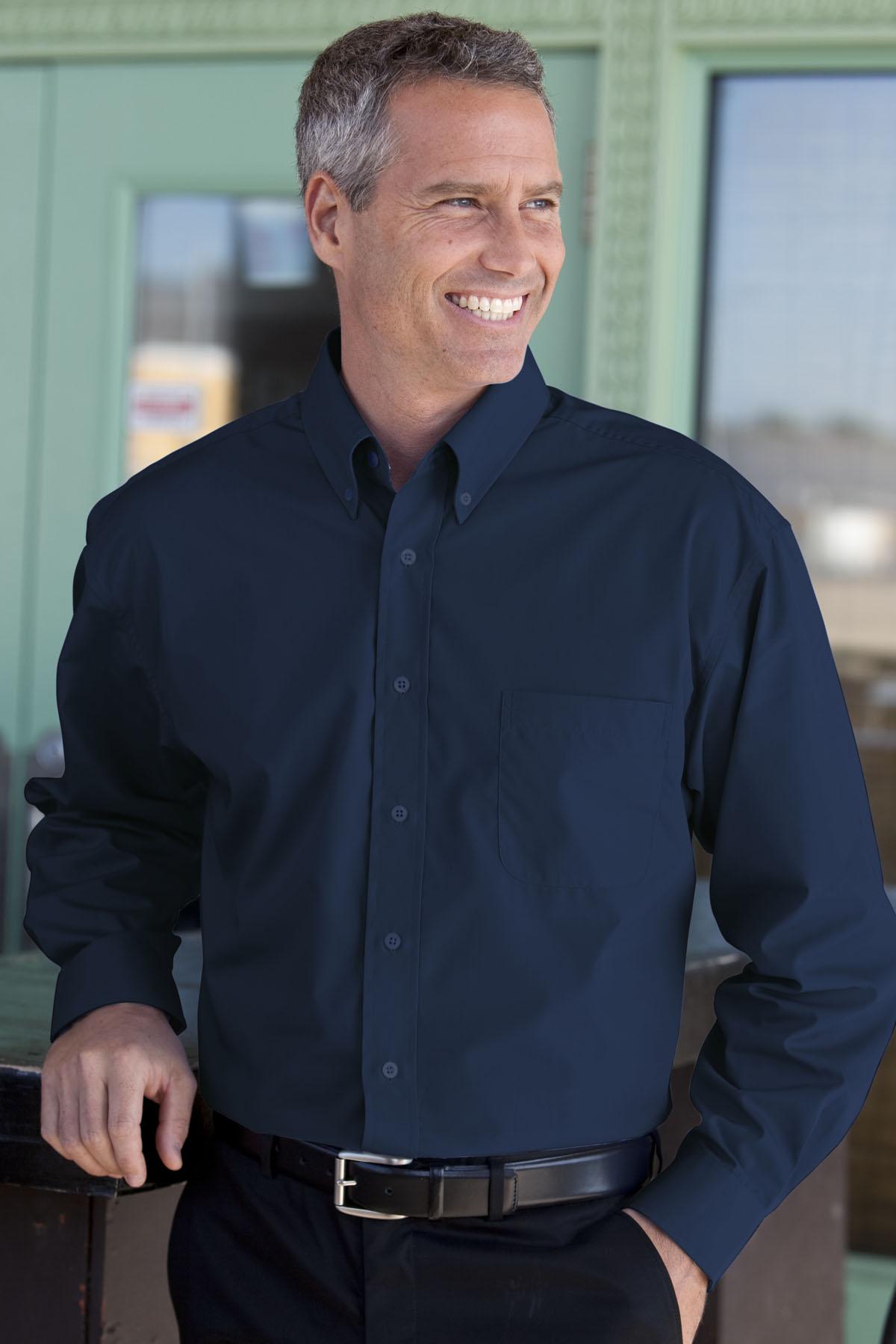 Vantage 1100 - Blended Poplin Shirt