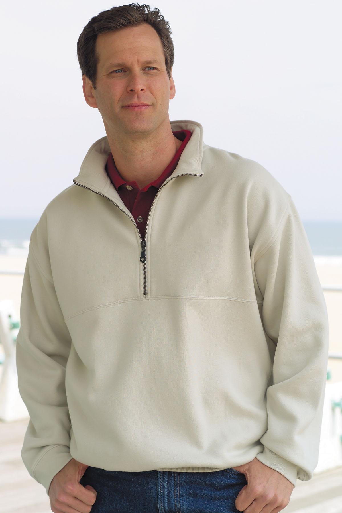 Vantage 3165 - Half Zip Jersey Fleece