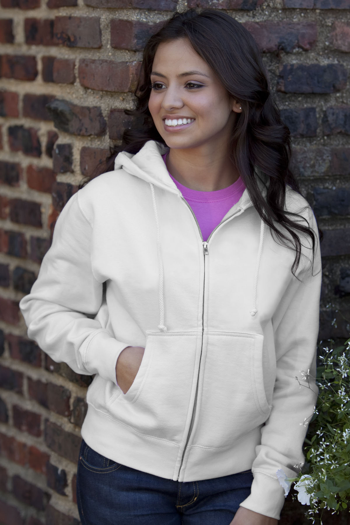 Vantage 3286 - Color Wash Fleece Pullover Hoodie