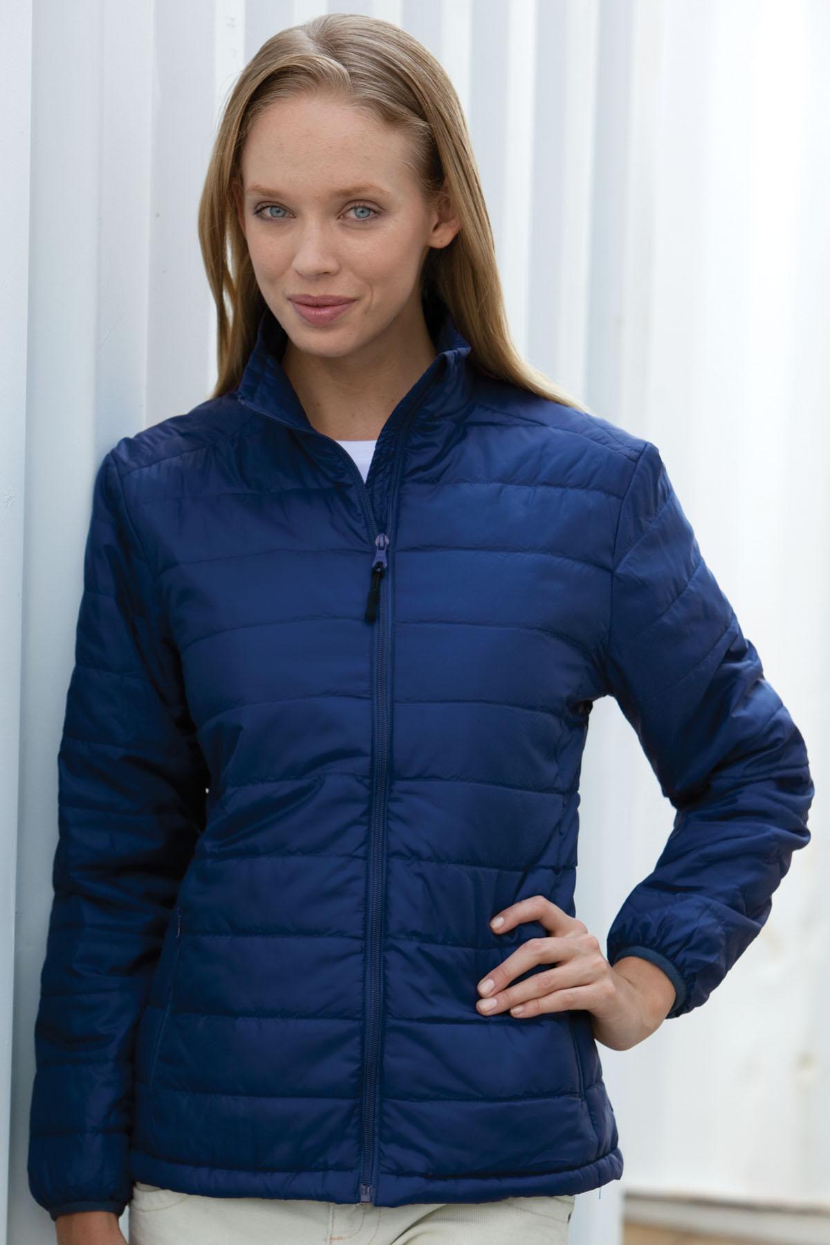 Vantage 7321 - Women's Apex Compressible Jacket