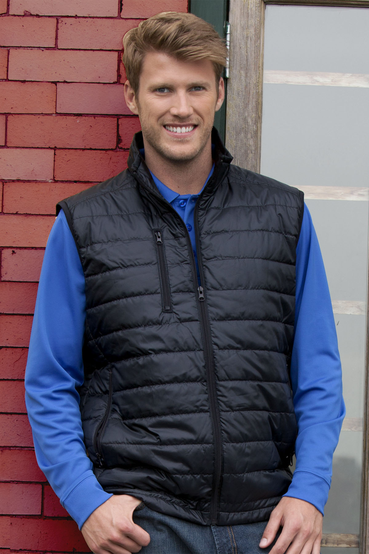Vantage 7325 - Apex Compressible Quilted Vest