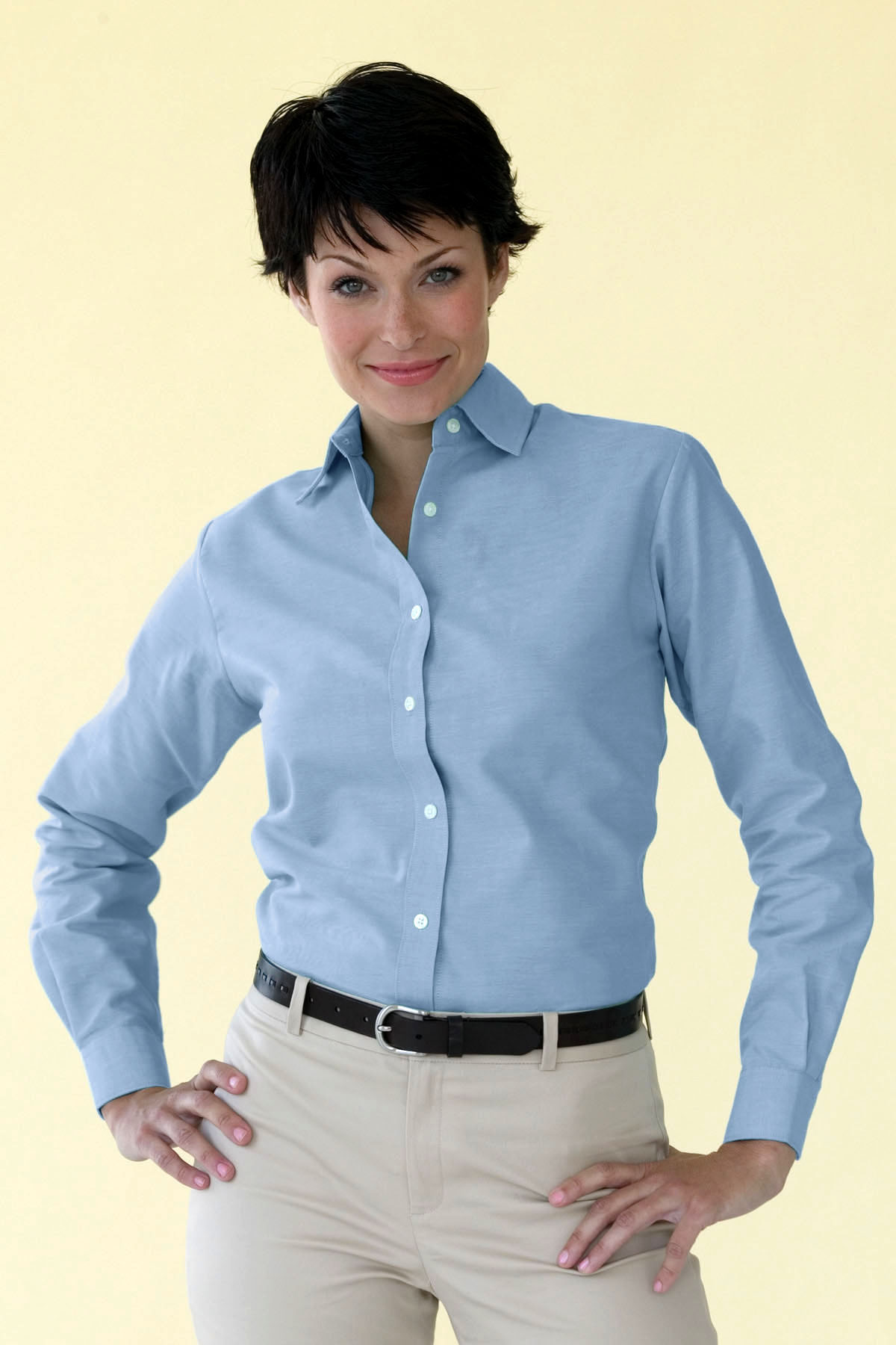 Velocity 1211 - Women's Repel & Release Oxford Shirt