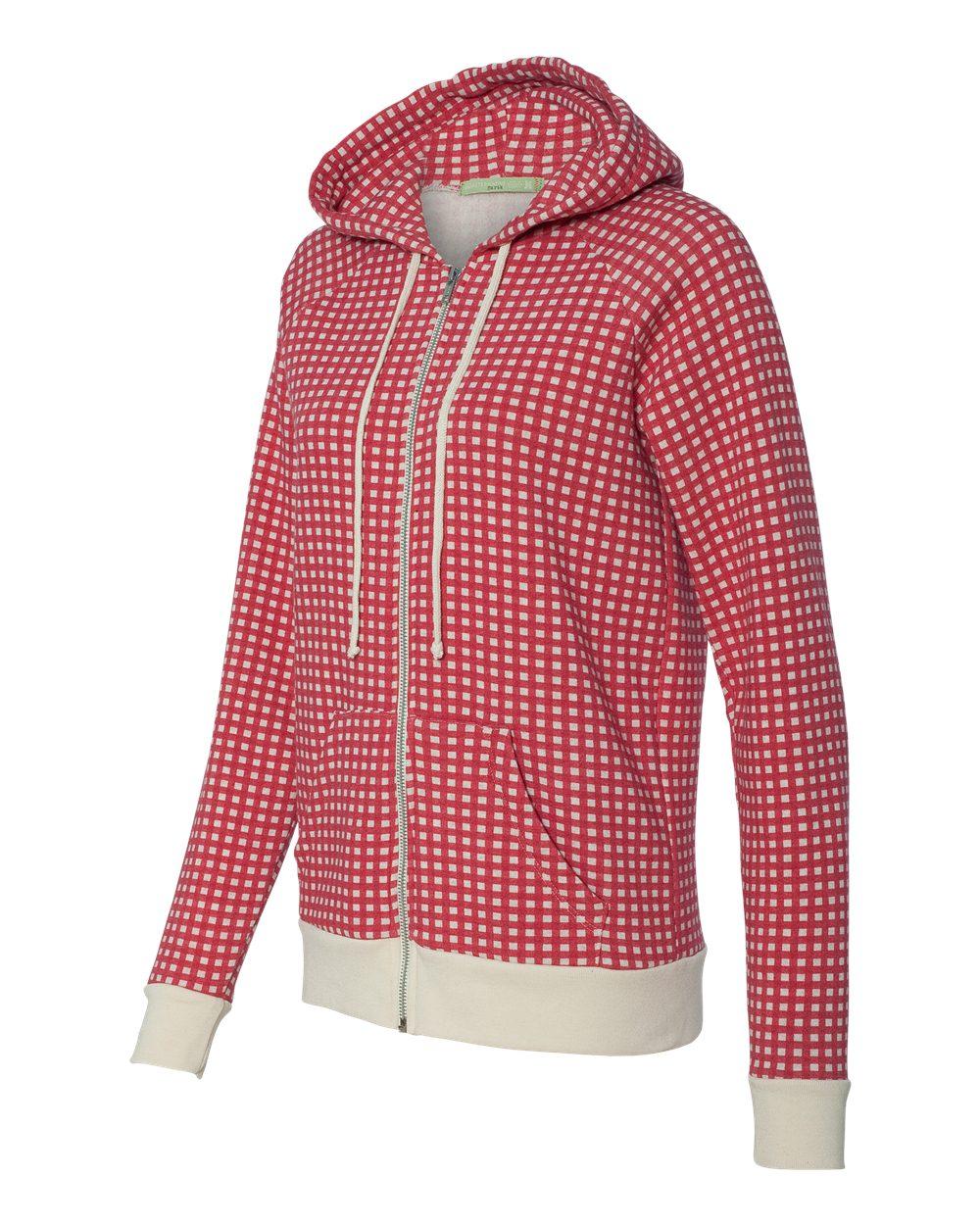Alternative Ladies' Eco-Fleece Adrian Full-Zip Hooded Sweatshirt - 9573