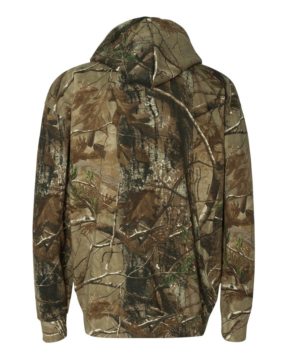 Code V Realtree® Hooded Full-Zip Sweatshirt - 3989