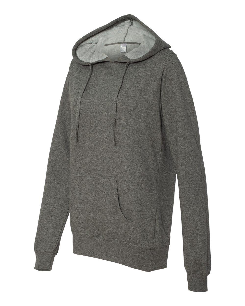 Independent Trading Co. Juniors' Heavenly Fleece Lightweight Pullover Hooded Sweatshirt - SS650