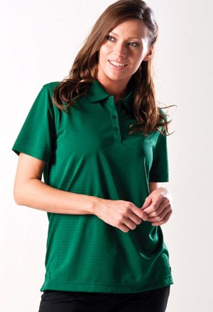 Zorrel W6080 - Textured Saddle Shoulder Golf Shirt