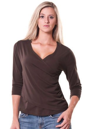 Zorrel Z5022 - Shirred V Neck