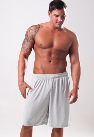 Zorrel Z510 - Jacquard Textured Training Shorts