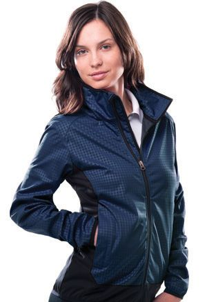 Zorrel Z5220 - Heat Emboss Softshell jacket
