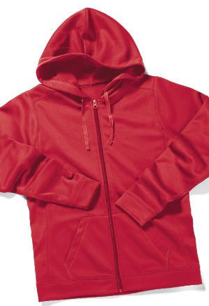 Zorrel Z5520 - Athletic Polyfleece Full Zip w/Hood