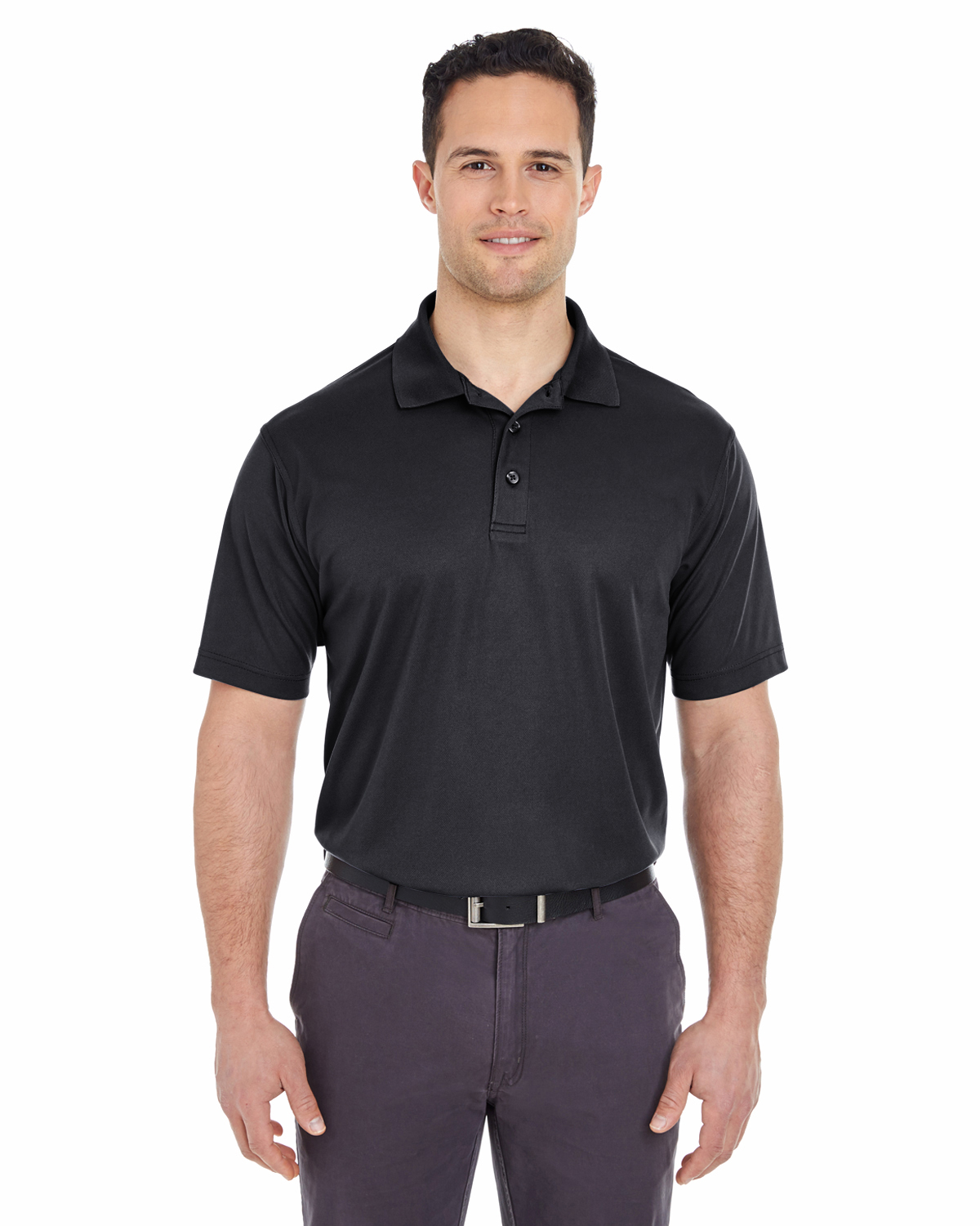 ULTRACLUB - 8210 UltraClub Men's Cool & Dry Mesh Pique ...