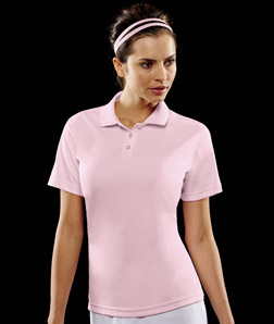 ULTRACLUB - 8394L UltraClub Ladies' Polo with Tipped ...