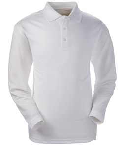 ULTRACLUB - 8445LS UltraClub Adult Cool & Dry Long-Sleeve Stain-Release Performance Polo