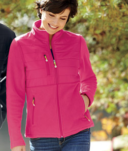 ULTRACLUB - 8493 Ladies' Fleece Jacket with Quilted ...