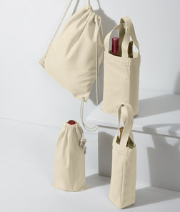 ULTRACLUB - 8875 Cotton Canvas Drawstring Pack
