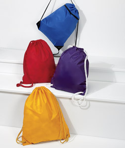 ULTRACLUB - 8888 Zippered Drawstring Backpack