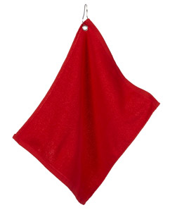 ULTRACLUB - C1518GH Large Velour Golf Towel with Grommet