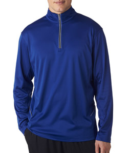 ULTRACLUB -  8230 UltraClub Adult Cool & Dry Sport 1/4-Zip Pullover