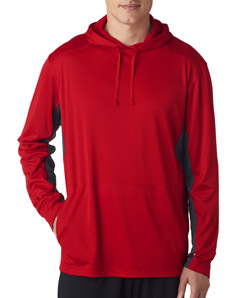 ULTRACLUB -  8231 UltraClub Adult Cool & Dry Sport Hooded Pullover