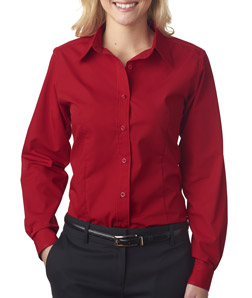 ULTRACLUB - 8355L Ladies' Easy-Care Broadcloth
