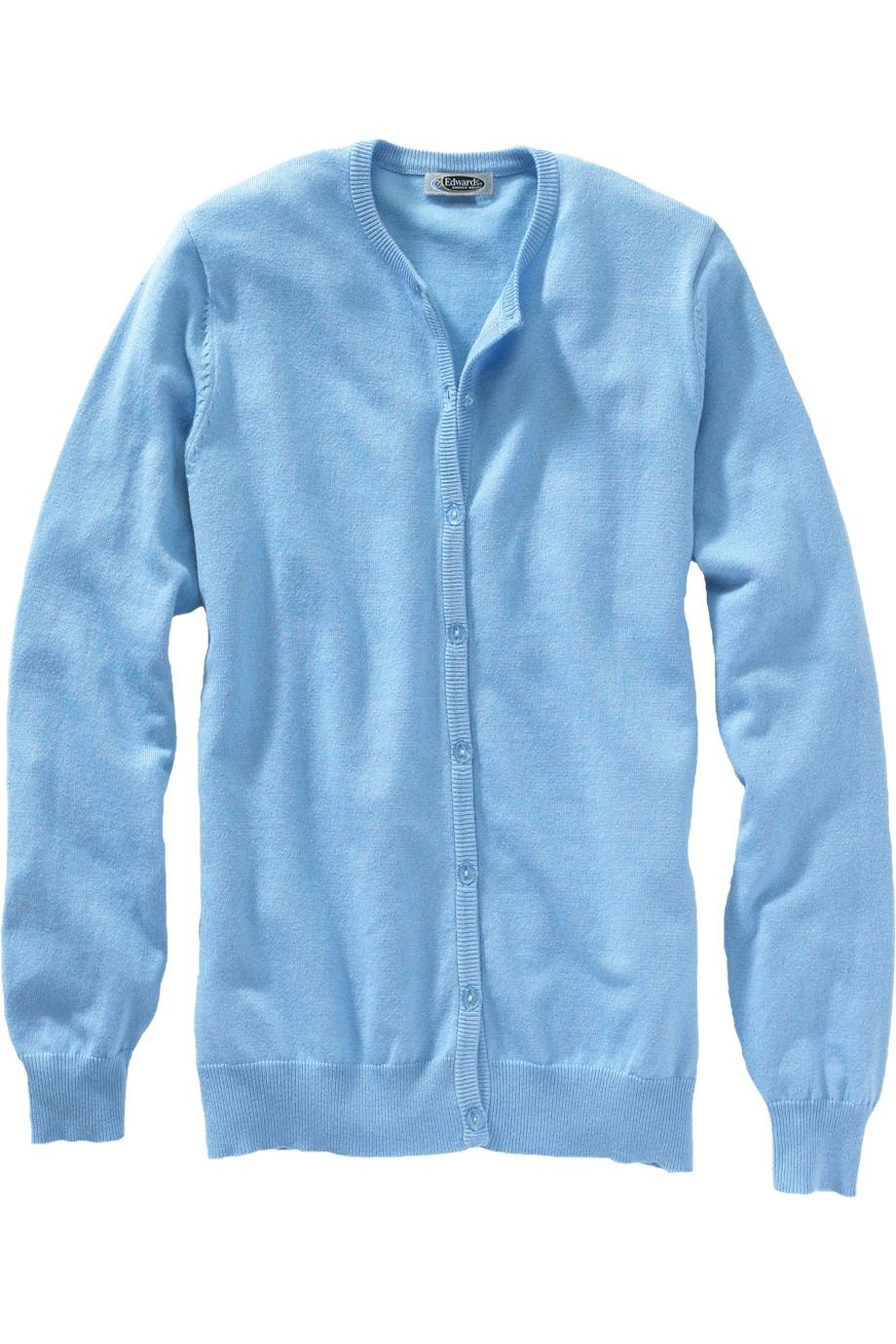 Edwards Garment 040 女士舒适开襟羊毛衫