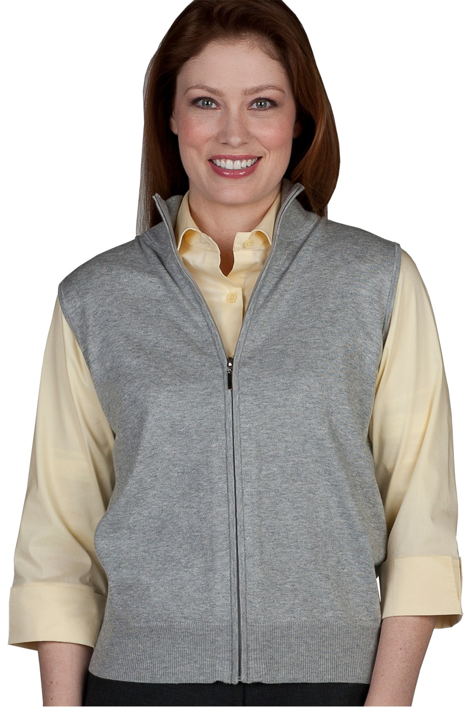 Edwards Garment 063 - Women's Full Zip Cardigan Vest