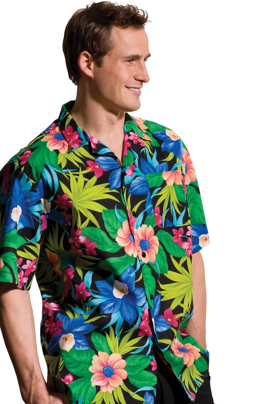 Edwards Garment 1015 - Hawaiian Camp Shirt