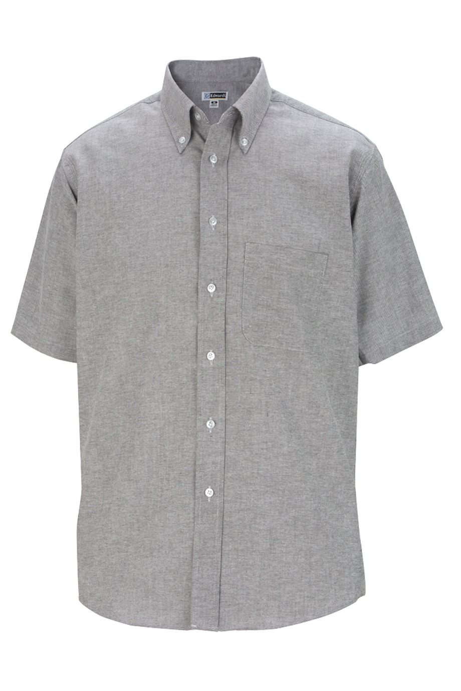 Edwards Garment 1027 - Men's Short Sleeve Oxford Shirt