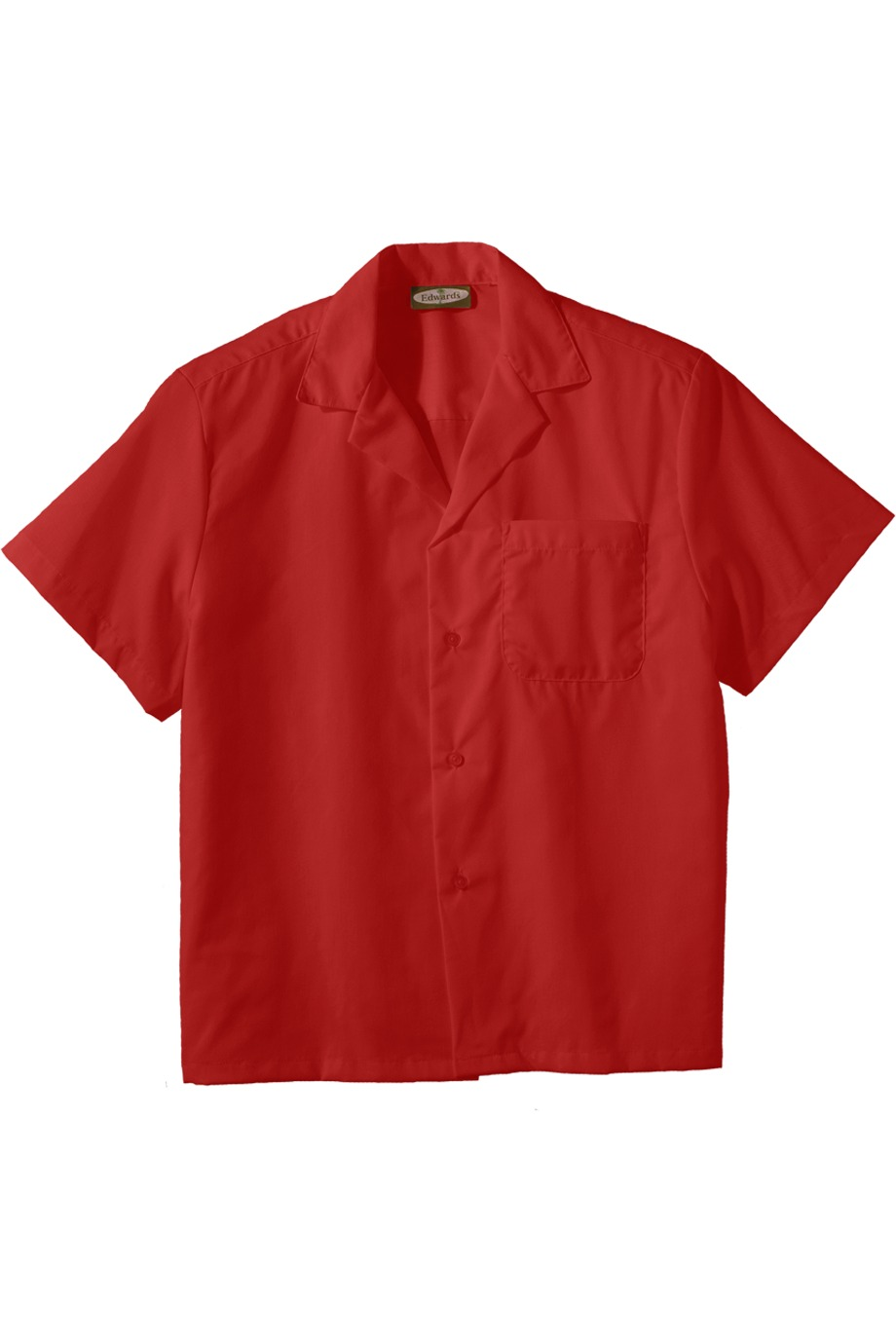 Edwards Garment 1029 - Easy Care Poplin Camp Shirt