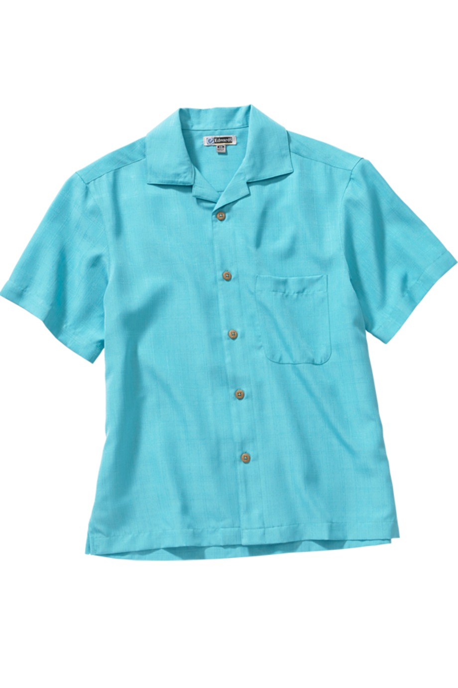 Edwards Garment 1030 - Jacquard Batiste Camp Shirt