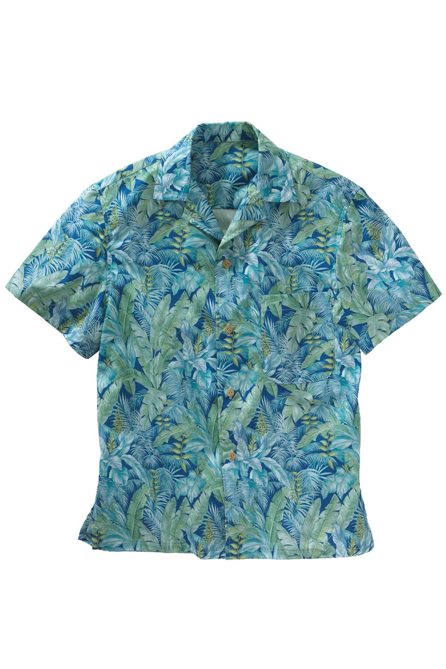 Edwards Garment 1032 - Tropical Leaf Camp Shirt