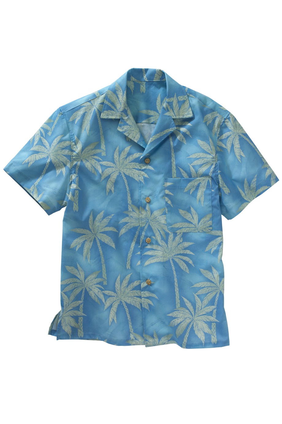 Edwards Garment 1034 - Palm Tree Camp Shirt