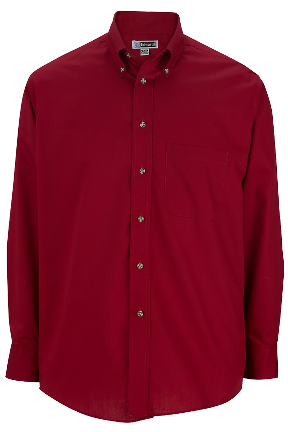 Edwards Garment 1280 - Men's Easy Care Poplin Shirt