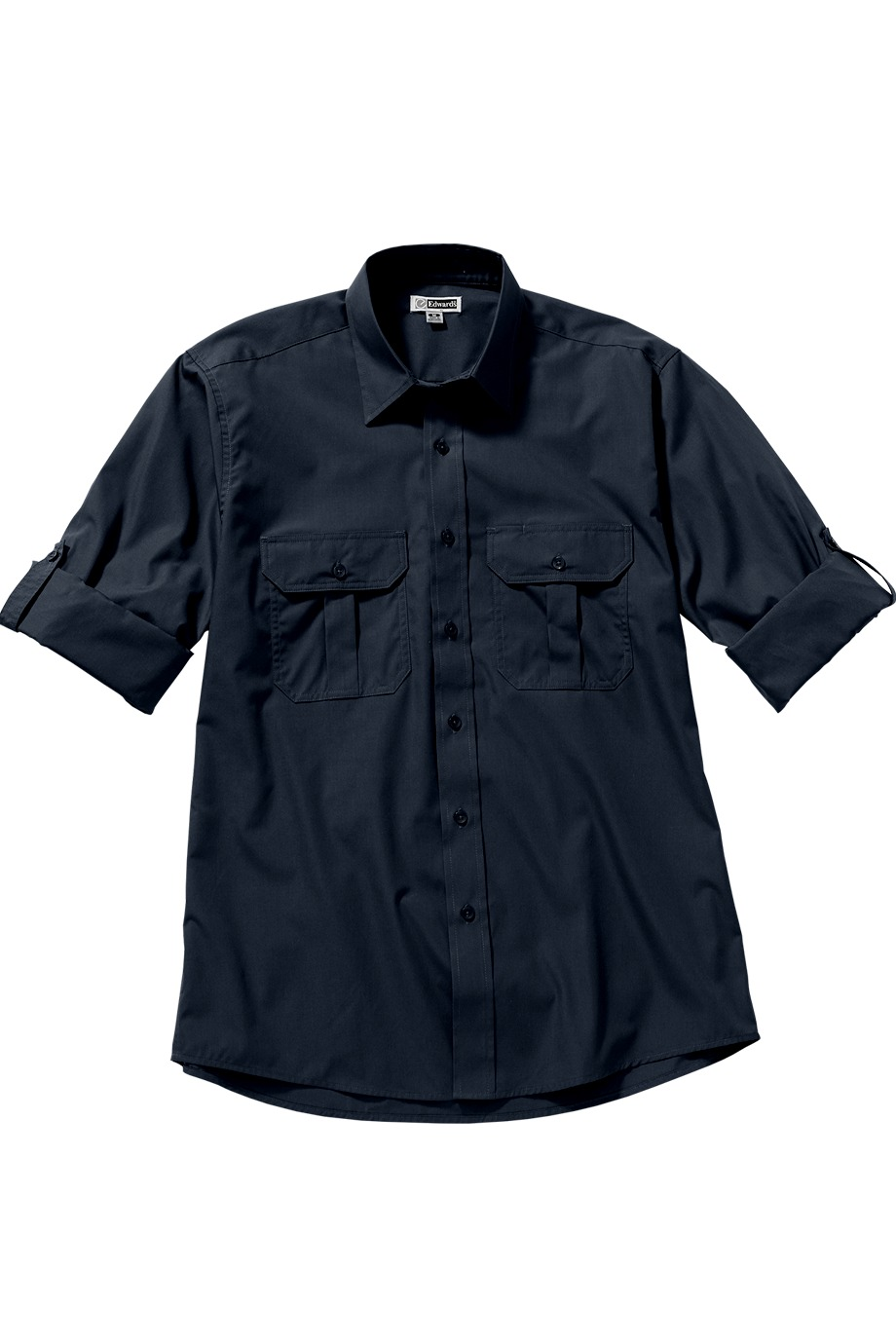 Edwards Garment 1288 - Roll Up Long Sleeve Shirt