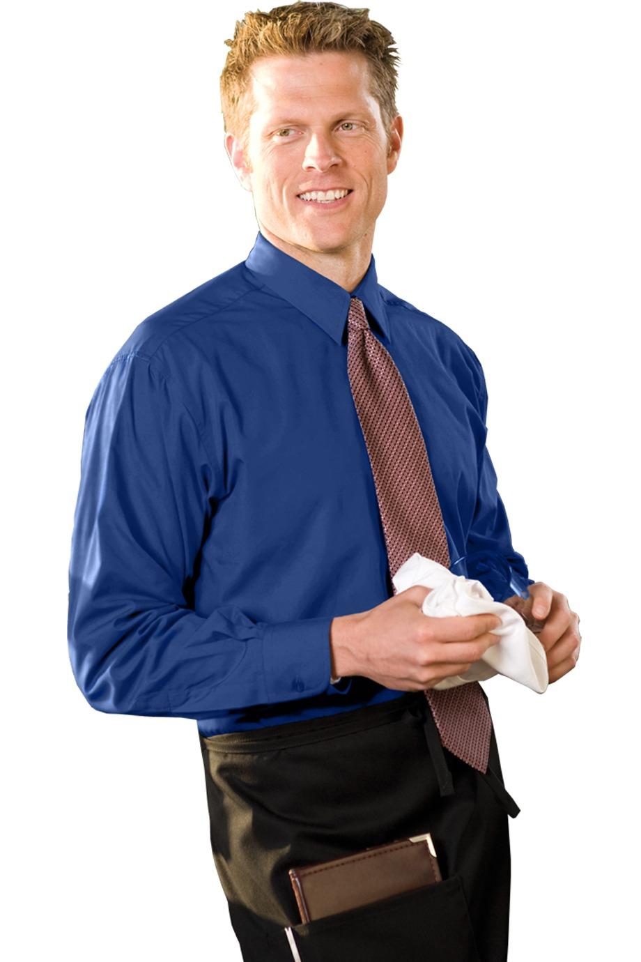 Edwards Garment 1290 - Men's Long Sleeve Cafe Shirt