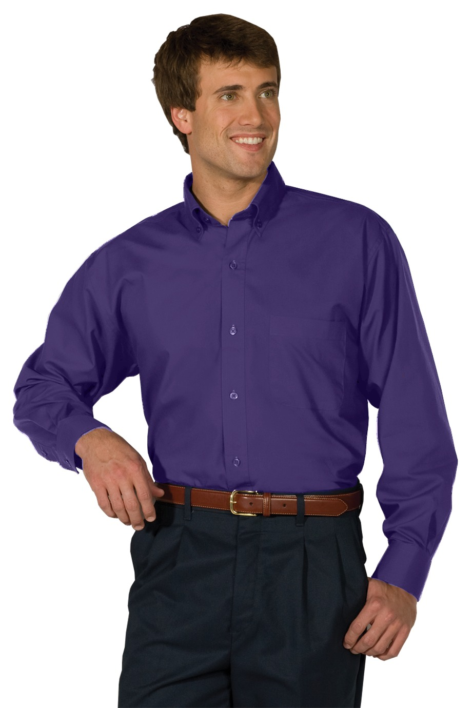 Edwards Garment 1295 - Men's Long Sleeve Soft Touch ...