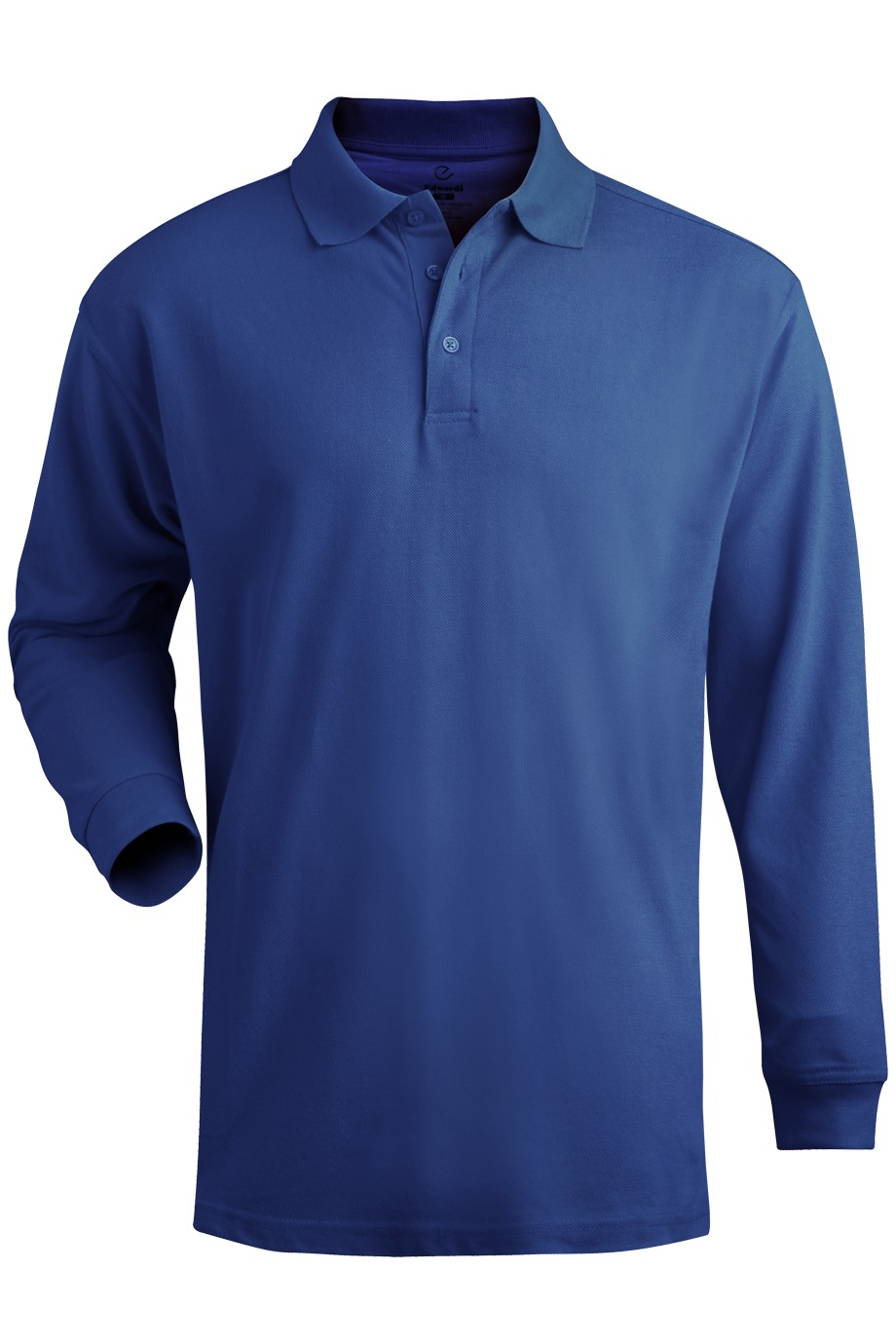 Edwards Garment 1515 - Men's Long Sleeve Pique Polo