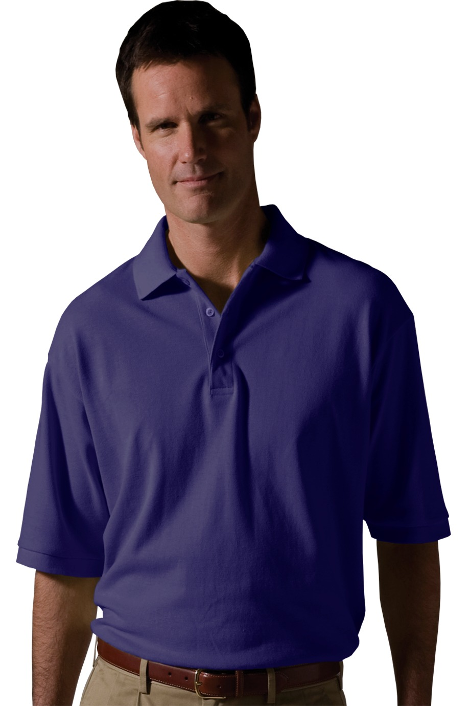 Edwards Garment 1530 - Men's Short Sleeve All Cotton Pique Polo