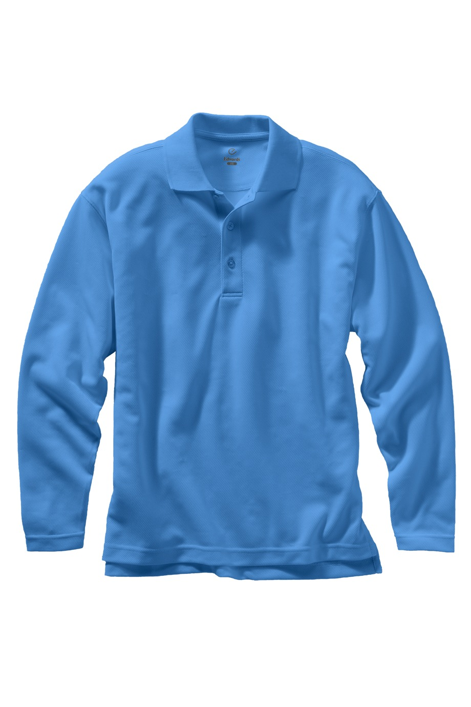 Edwards Garment 1578 - Dry-Mesh Long Sleeve Polo