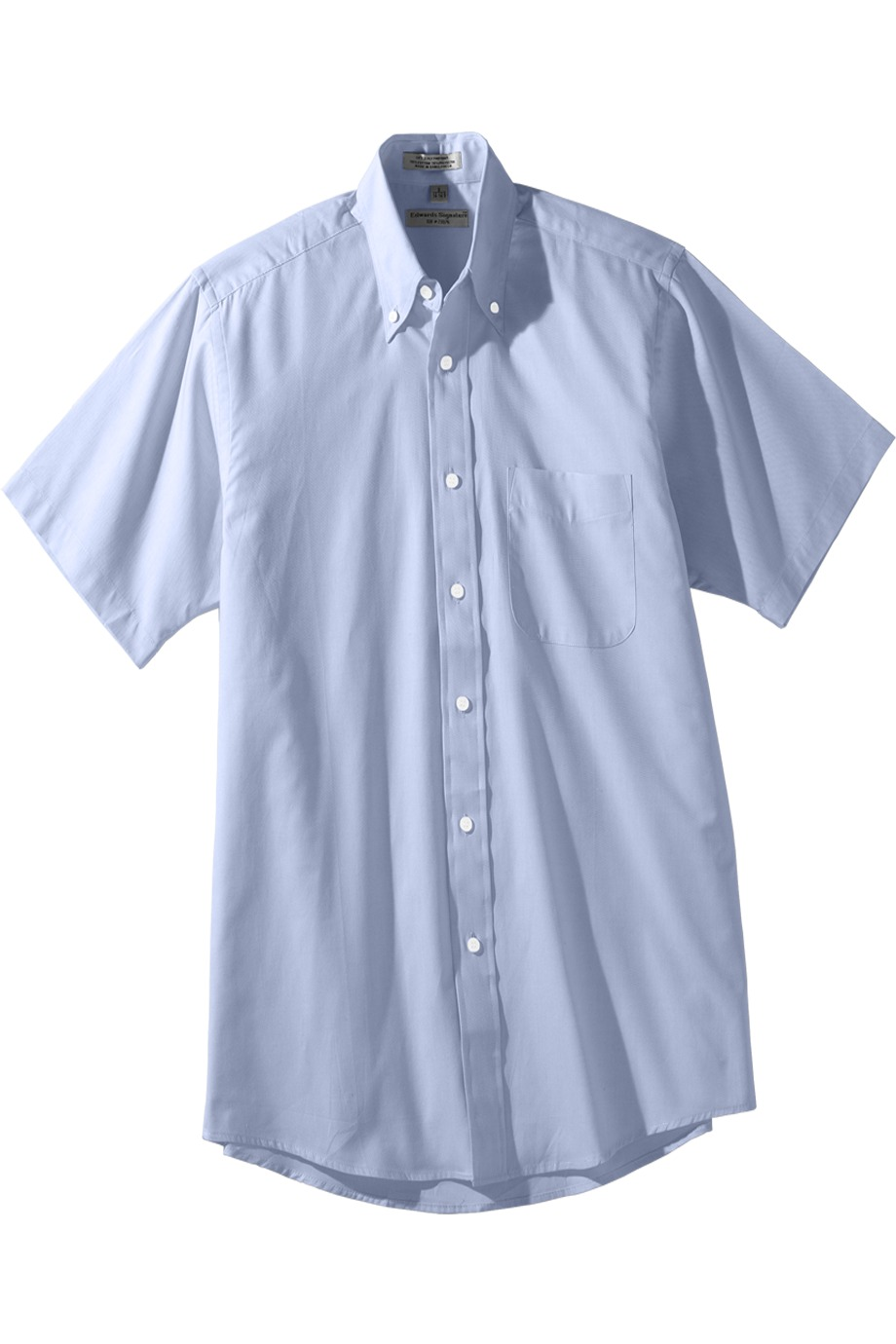 Edwards Garment 1925 - Men's Short Sleeve Pinpoint Oxford ...