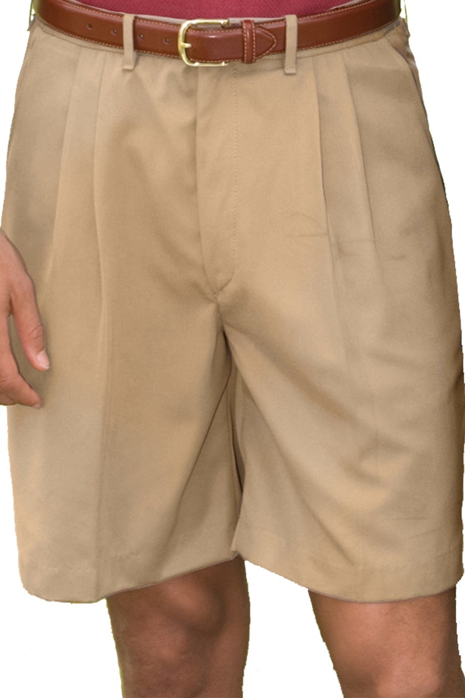 Edwards Garment 2474 - Men's Microfiber Pleated Short