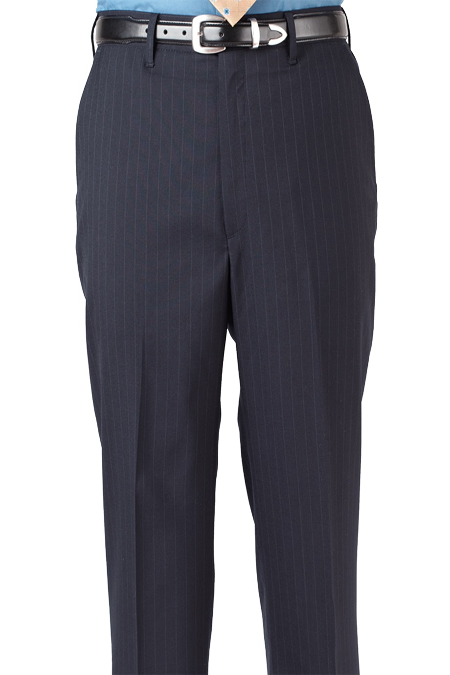 Edwards Garment 2560 - Men's Pinstripe Flat Front Pant