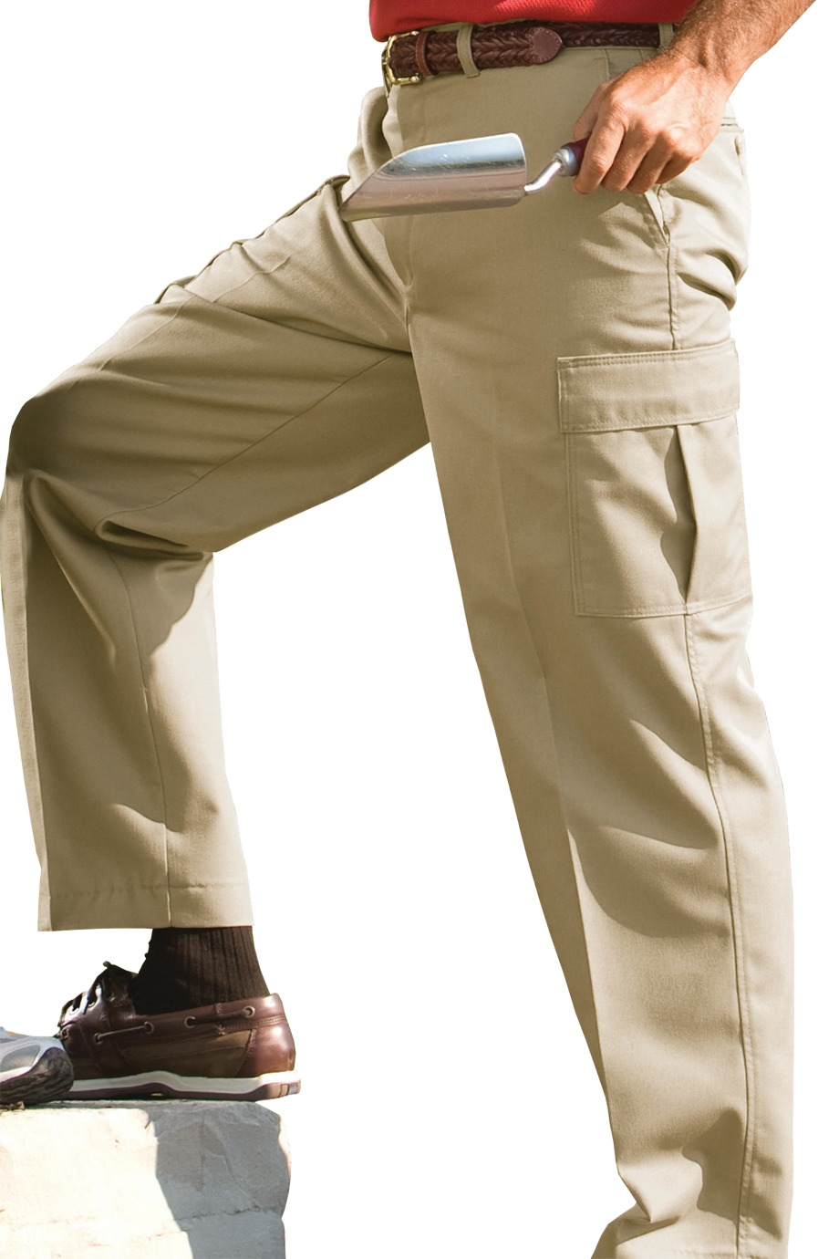 Edwards Garment 2575 - Men's Blended Chino Cargo Pant
