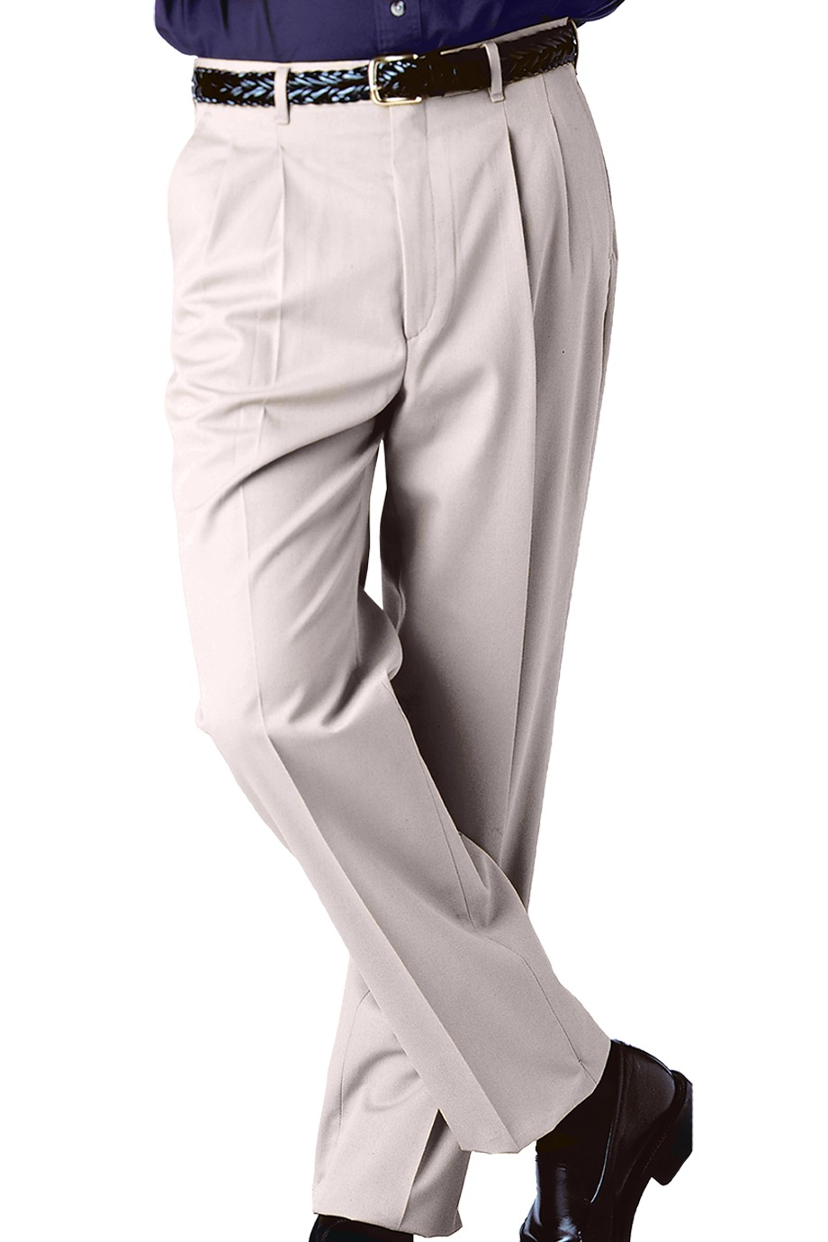 Edwards Garment 2610 - Men's Business Casual Pleated ...